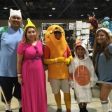 Adventure Time family at Long Beach Comic-Con 2018