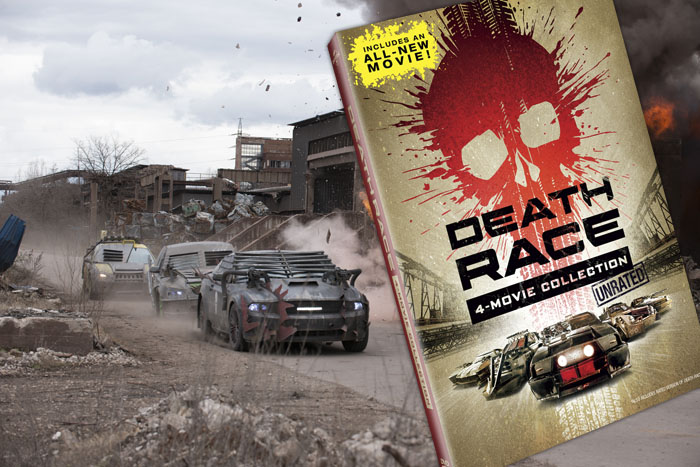 Death Race: Beyond Anarchy 4 movie set