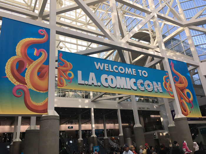 Los Angeles Comic-Con 2018 welcome