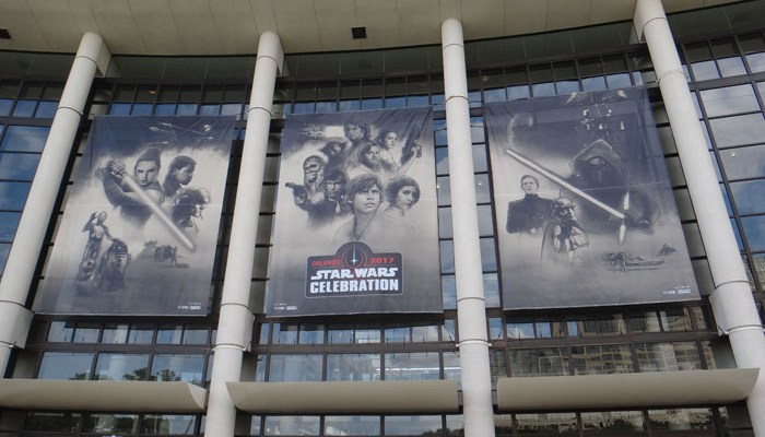 Star Wars Celebration Orlando 2017 - banners