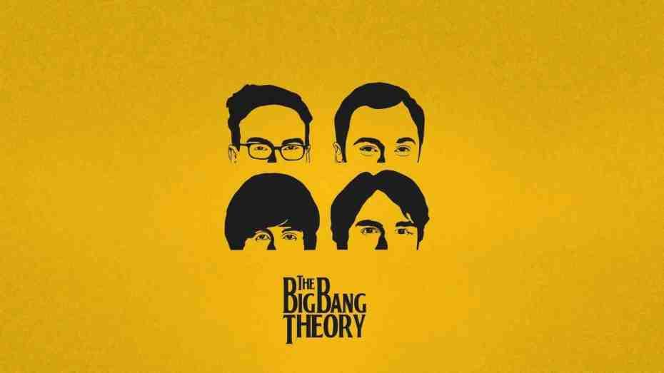 The Big Bang Theory Vanity Cards