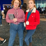 Long Beach Comic Expo 2019 - Barb and Nancy from Stranger Things
