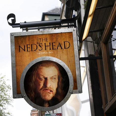 British pub culture Ned Stark