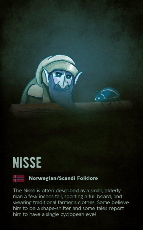 Norwegian mythical creature