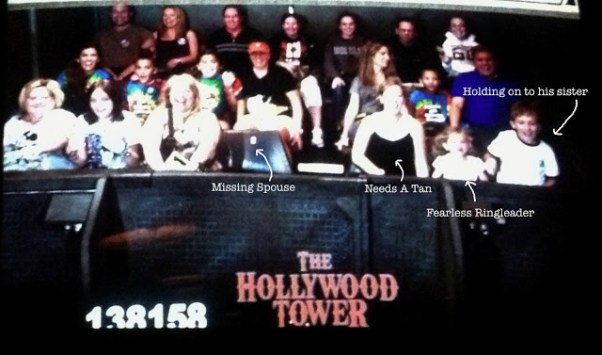 family rides hollywood tower of terror