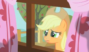 horse looking in