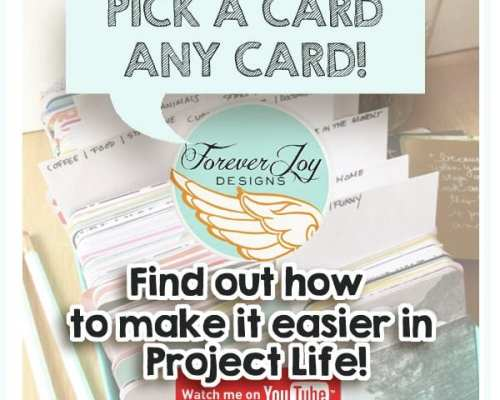 Video | Project Life: Making it easier to pick a card, any card