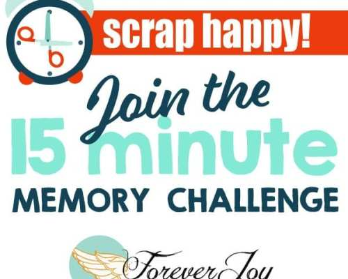 Introducing the 15 minute memory Challenge-