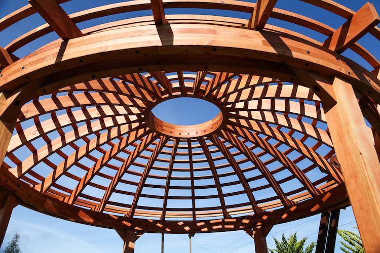 Wooden Dome Pergola