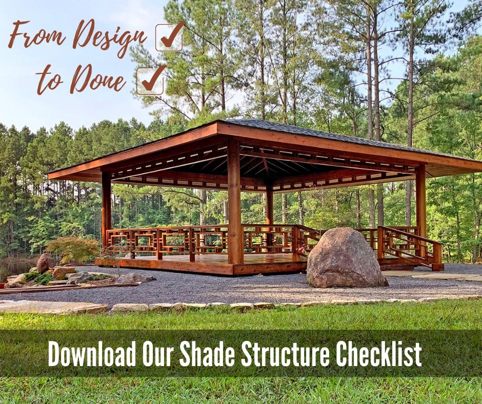 From Design to Done — Our Handy Shade Structure Checklist