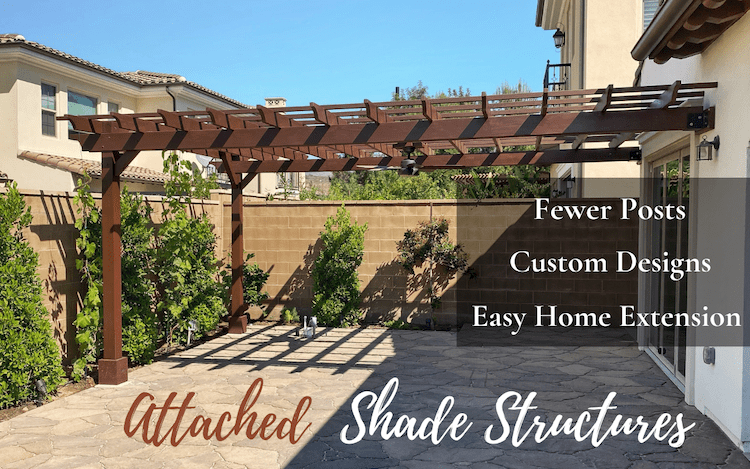Attached Shade Structures