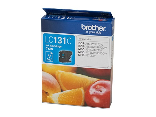 Brother LC131 Cyan Ink Cart