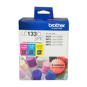 Brother LC133 CMY Colour Pack