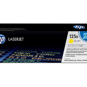 HP #125A Yellow Toner CB542A