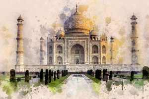 Taj Mahal HD Wallpaper