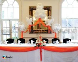 Elegant Top Table Arch