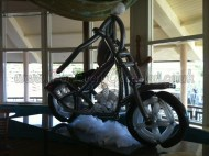 Life size Motorcycle