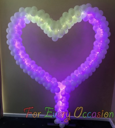Beautiful Colour Changing Heart