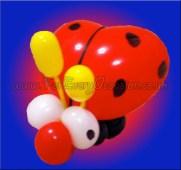 Lady Bug Balloon Model