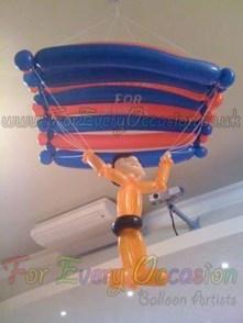 Parachute Balloon Model