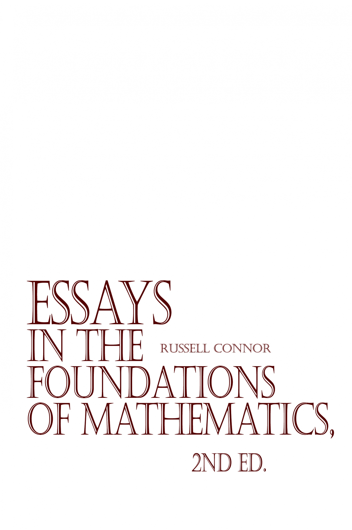 Review Of Essays In The Foundations Of Mathematics 2nd Ed