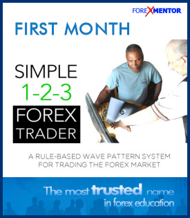 Simple 1-2-3 Forex Trader First Month Membership