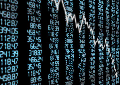 How does money disappear in a stock market crash