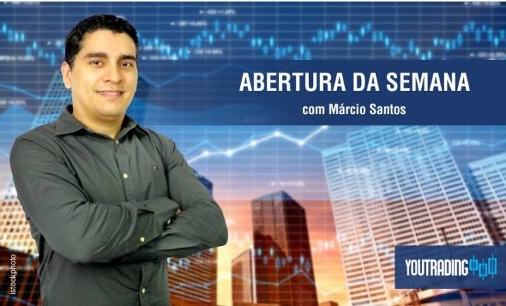 Banner Abertura do Mercado com Marcio Santos no site da Youtrading