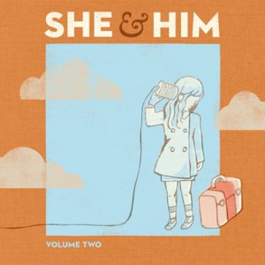 She & Him volume 2 album Zooey Deschanel M Ward