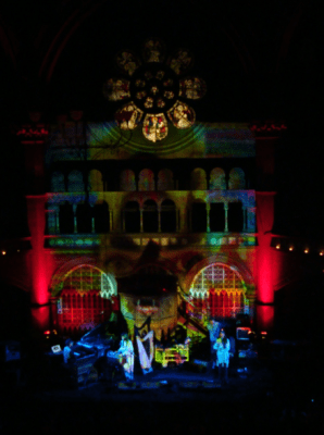 CocoRosie at Union Chapel by Hayley Brunton