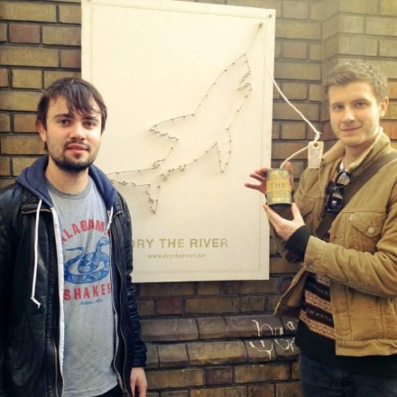 For Folk's Sake   Dry The River interactive poster