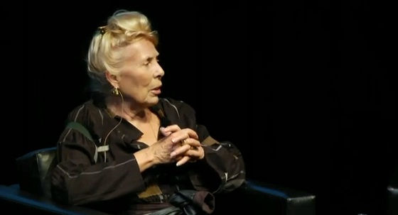Joni Mitchell talks to  The New York Times' chief pop music critic Jon Pareles at Luminato Festival in Toronto