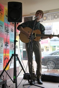 Benedict Benjamin on Record Store Day at Music's Not Dead