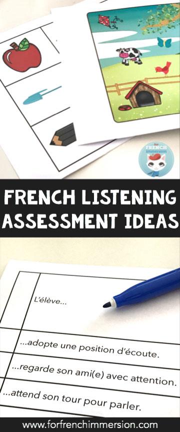 listening assessment exercise