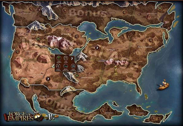 Forge of Empires World Map 2