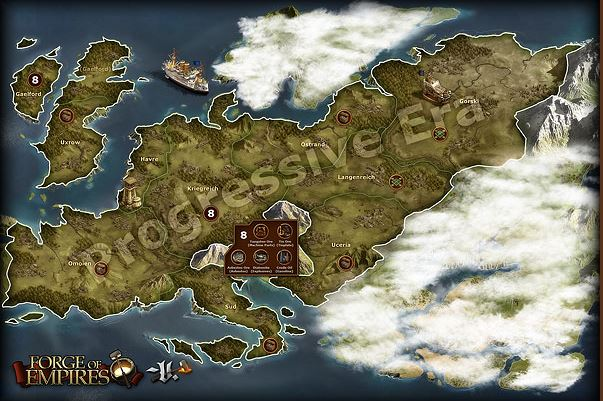 Forge of Empires World Map 3