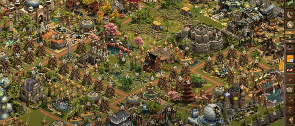 Forge of Empires Space Age Asteroid Belt