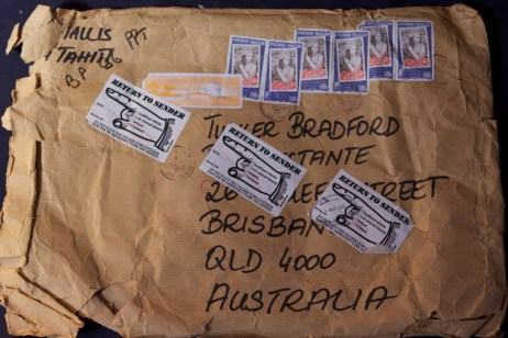 We tried to receive it at Post Restante when we first arrived in Australia.