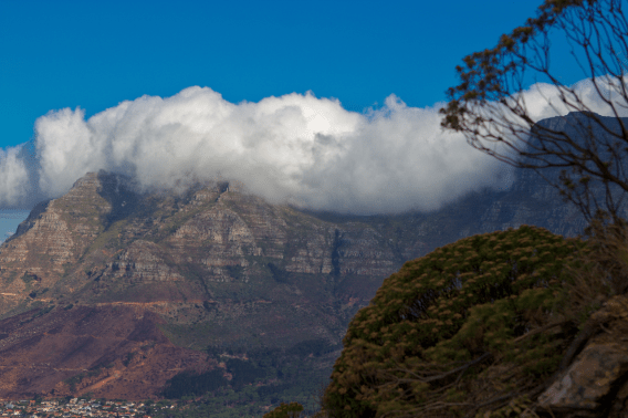 Table Mountain (and the Table Cloth)