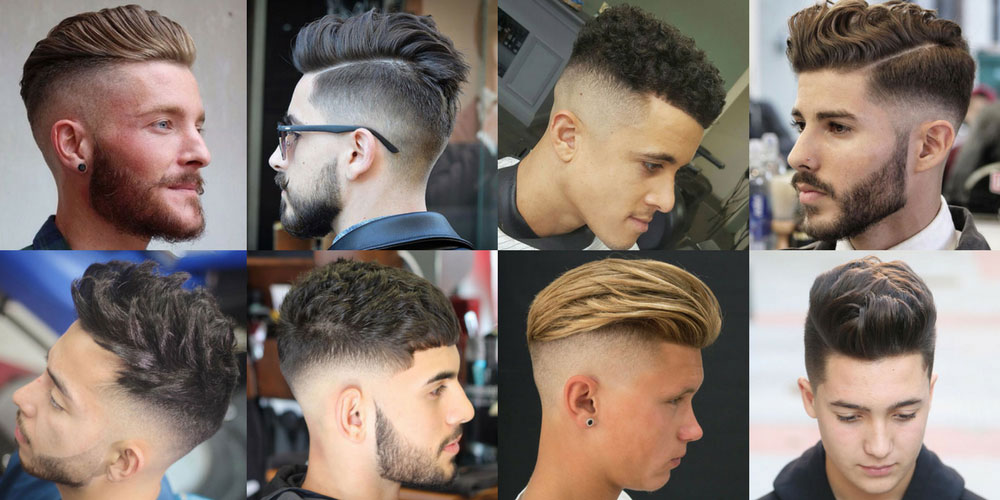 BEST HAIRSTYLES FOR DIFFERENT MEN'S