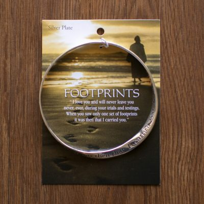 Footsteps Mobius Bracelet