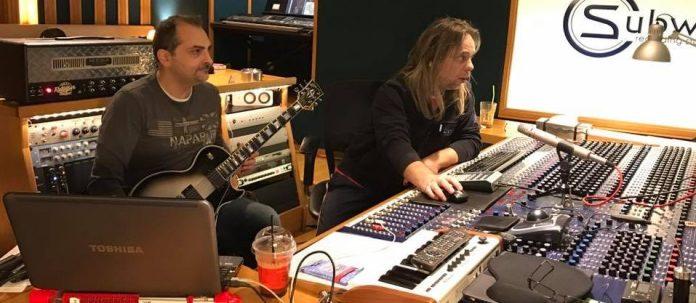 Major Denial in the studio
