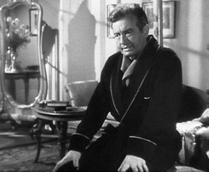 "Claude Rains in ""Notorious"""