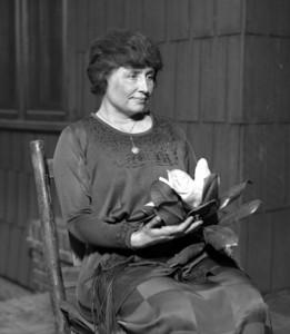 Hellen Keller in 1920