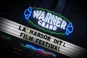 LA Harbor marquee