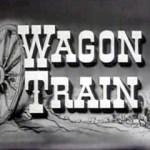 wagon train b&w