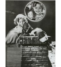 shirley temple christmas photo