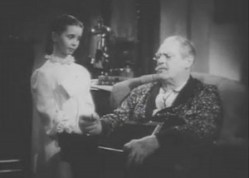 46 Margaret O'Brien & Lionel Barrymore
