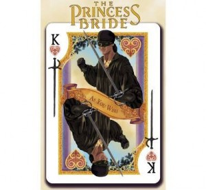 princess bride playing card