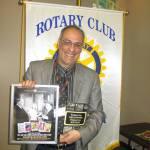 Manny at Rotary Club